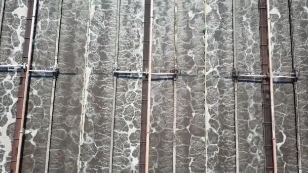 Breite Antenne der Wasseraufbereitung Kreis