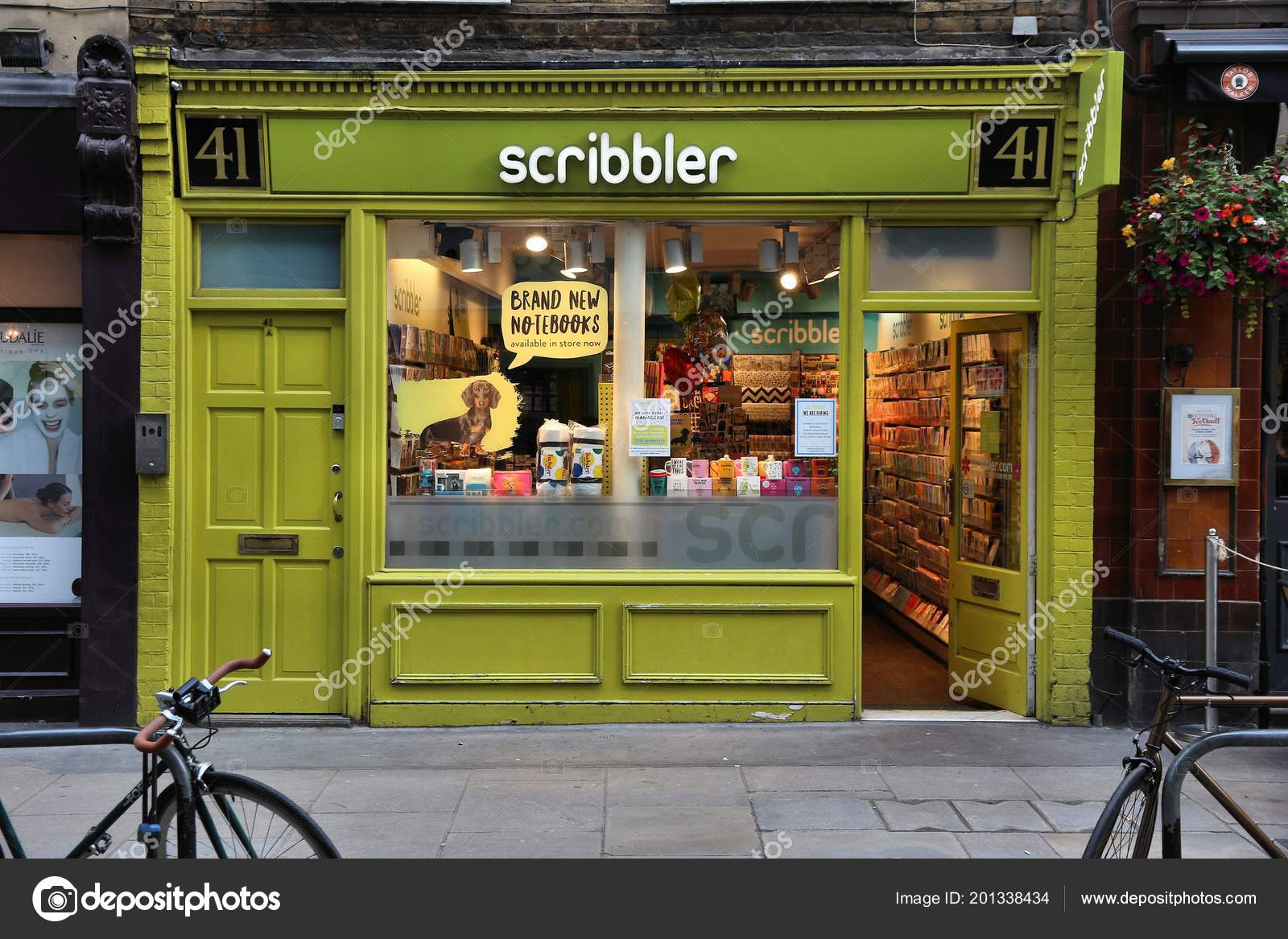 London July 2016 People Shop Scribbler Greeting Card Store London