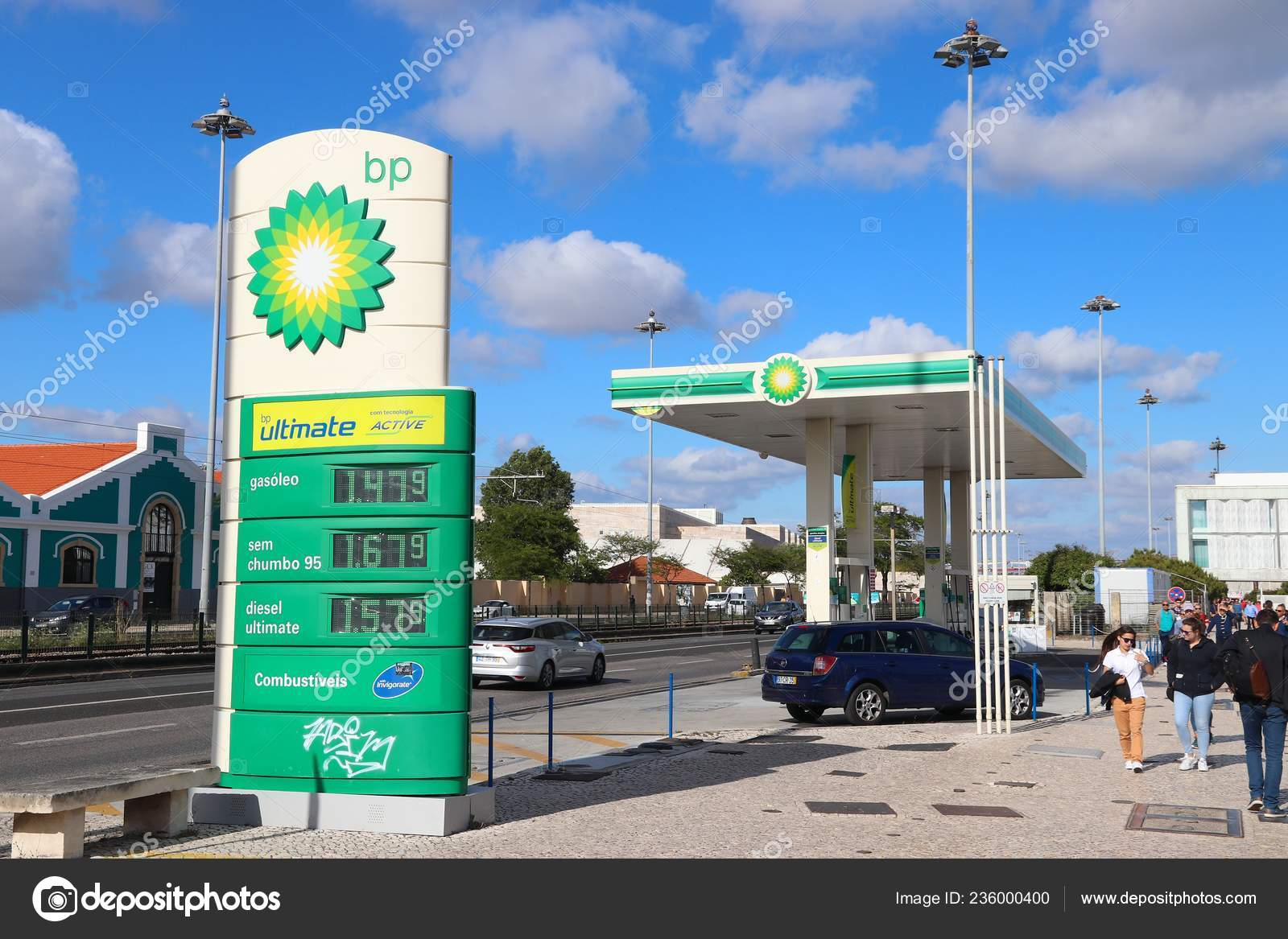 Gas Station Prices >> Lisbon Portugal June 2018 Gas Station Prices Portugal