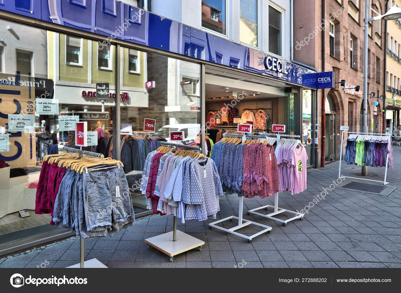 new photos where can i buy exclusive deals Nuremberg Cecil shop – Stock Editorial Photo © tupungato ...