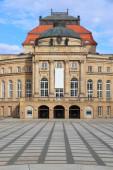 Chemnitz. Opern- und Theatergebäude (Opernhaus).