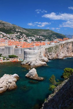 Dubrovnik, Croatia. Medieval Old Town. UNESCO World Heritage Site.