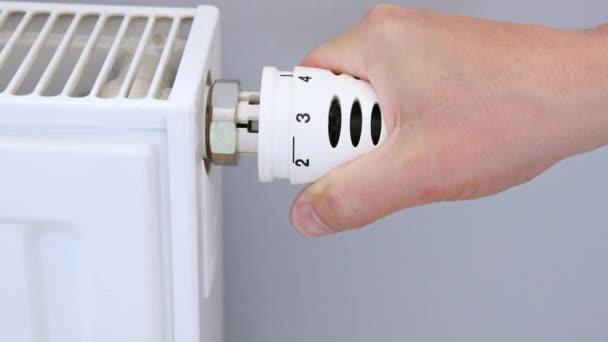 Heizthermostat per Hand einstellen