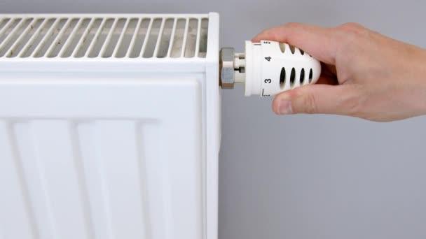 Ruční nastavení topného termostatu