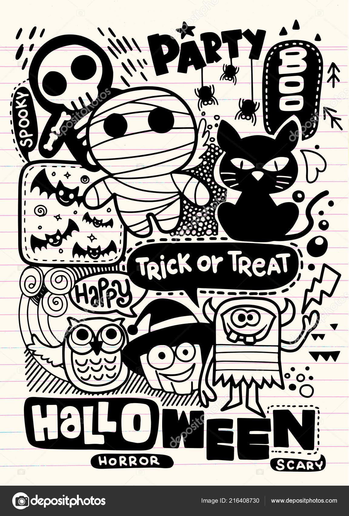 Tarjeta Invitación Fiesta Halloween Calabaza Linda Fantasmas