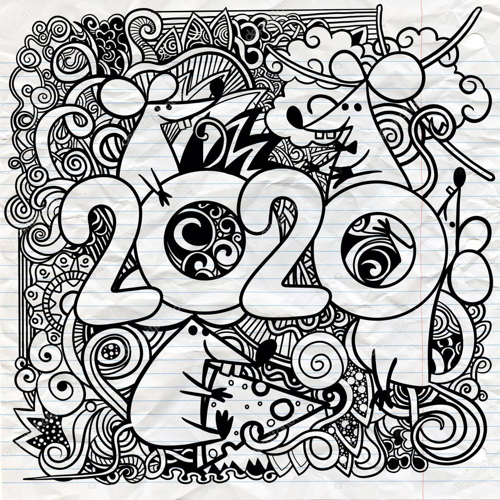 Картинки символа нового года 2020