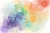 Fotografie Vícebarevná akvarel zázemí. Ručně kreslené ilustrace.