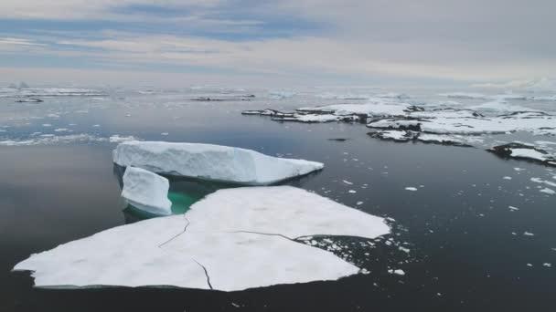 antarktis iecberg schwimmen meer offene wasserantenne