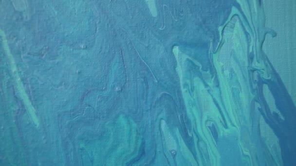 Kézzel festett akril textúrájú háttér absztrakt kortárs művészeti festészet. Kijelölt fókusz. A bokeh blur.