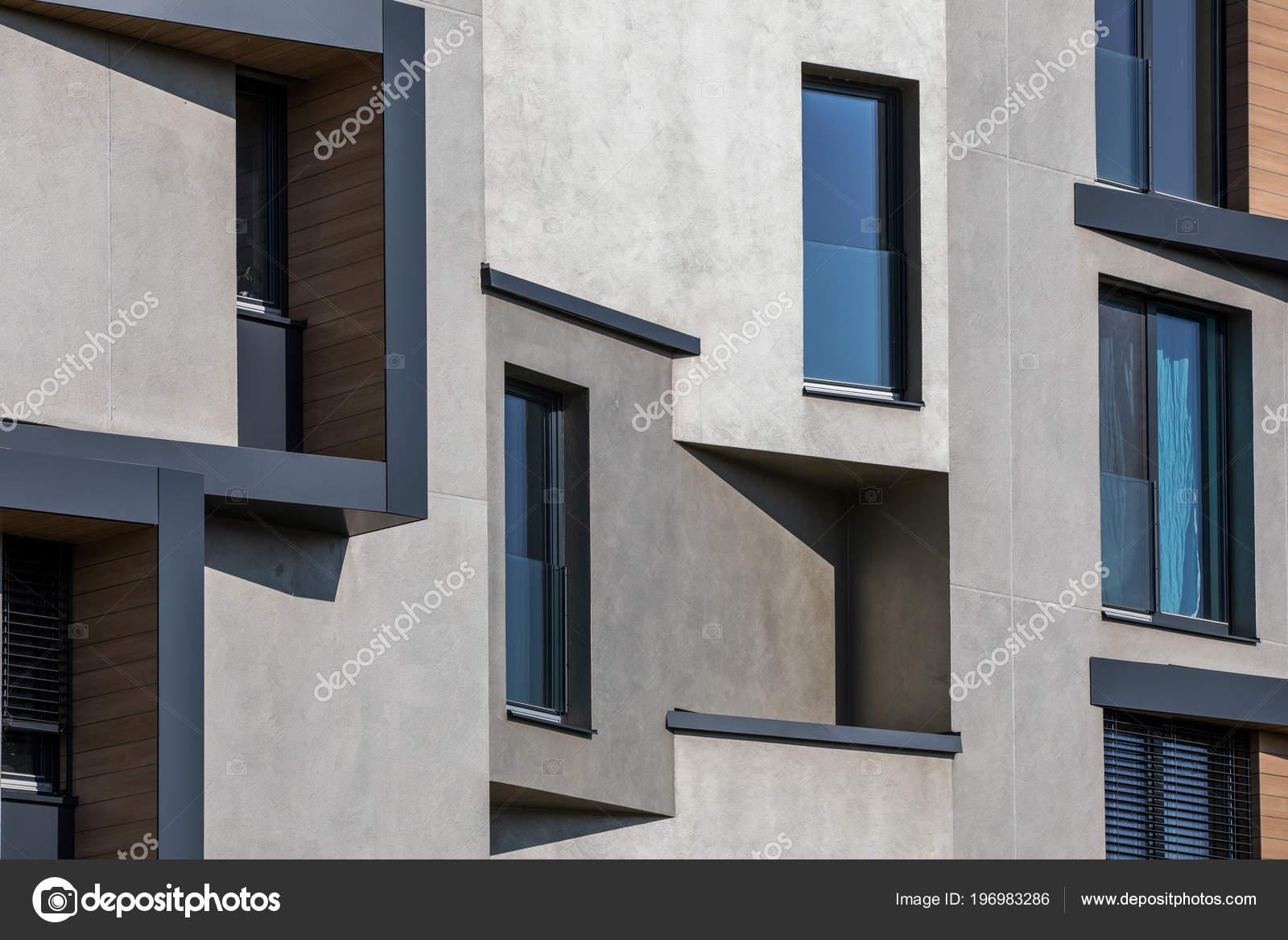 Zeitgenössisches Design Von Mehrfamilien Wohnhäuser Moderne Luxus ...