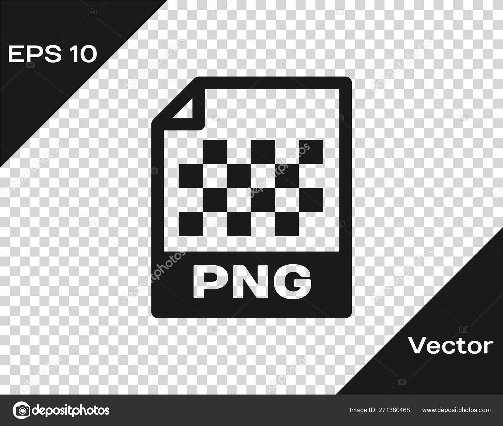 Grey PNG file document icon  Download png button icon isolated on