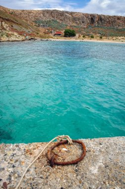 Imeri Gramvousa Island near island of Crete, Greece