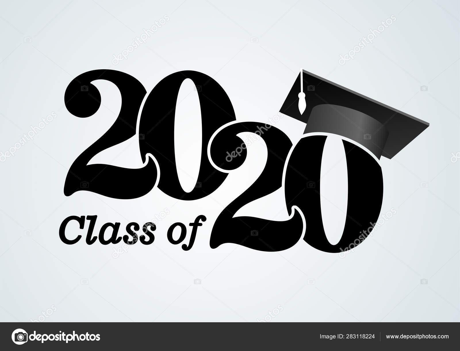 Graduation Hat 2020.Class 2020 Graduation Cap Congratulations Graduation