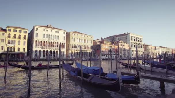 gondolák, Velence, Olaszország.