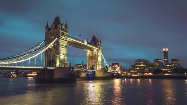 időeltolódás, Tower Bridge Londonban naplementekor