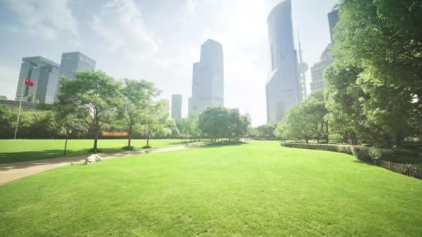 park v lujiazui finanční centrum, Šanghaj, Čína