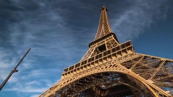 Hyper lapse, Eiffelova věž, Paříž. Francie