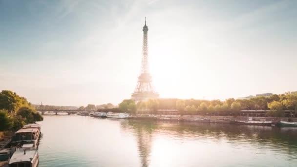hyper lapse, Eiffelova věž, Paříž, Francie
