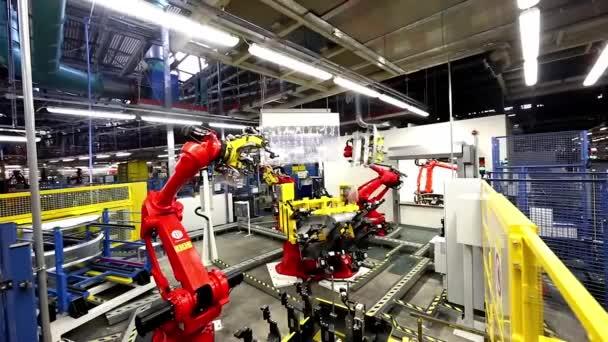 Automatizált robotkar autóipari autó ipari automatizálás közgyűlés sor3