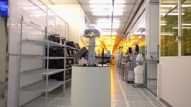 Ultra Modern High Tech Laboratory Full Of Advanced Technologie