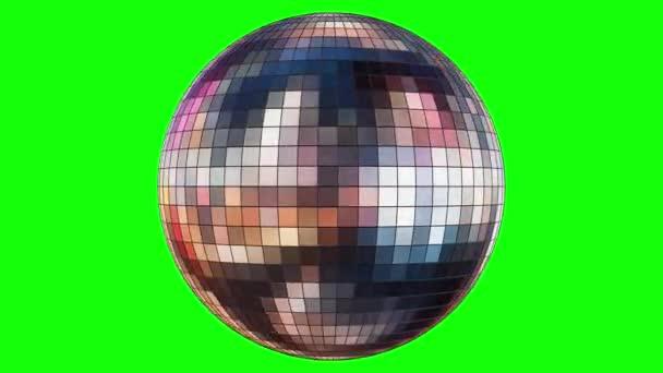 Animace rotace zrcadlové diskotéky