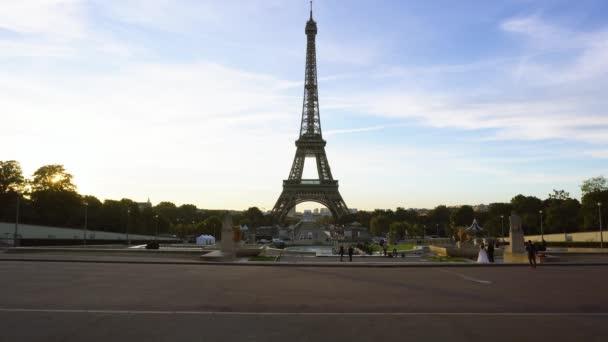 Eiffel tour a z Trocadera, Paříž