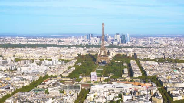 Eiffel Tower and Paris cityscape