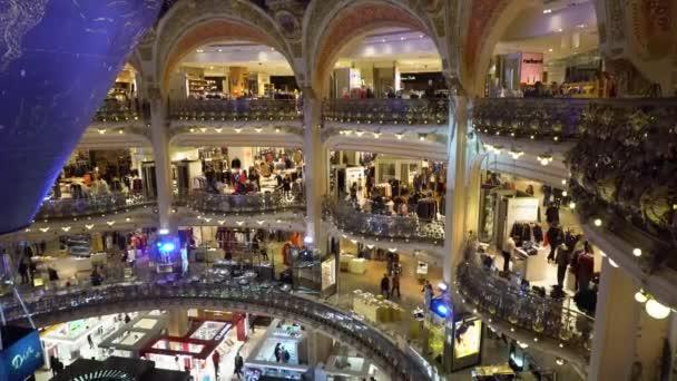 Gallery Lafayette, famous Paris shop, France