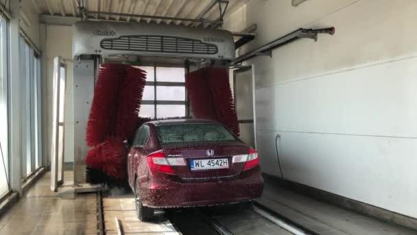 Automatická myčka aut