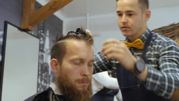 Hairdresser For Men Barbershop Hair Care Hairdresser With A
