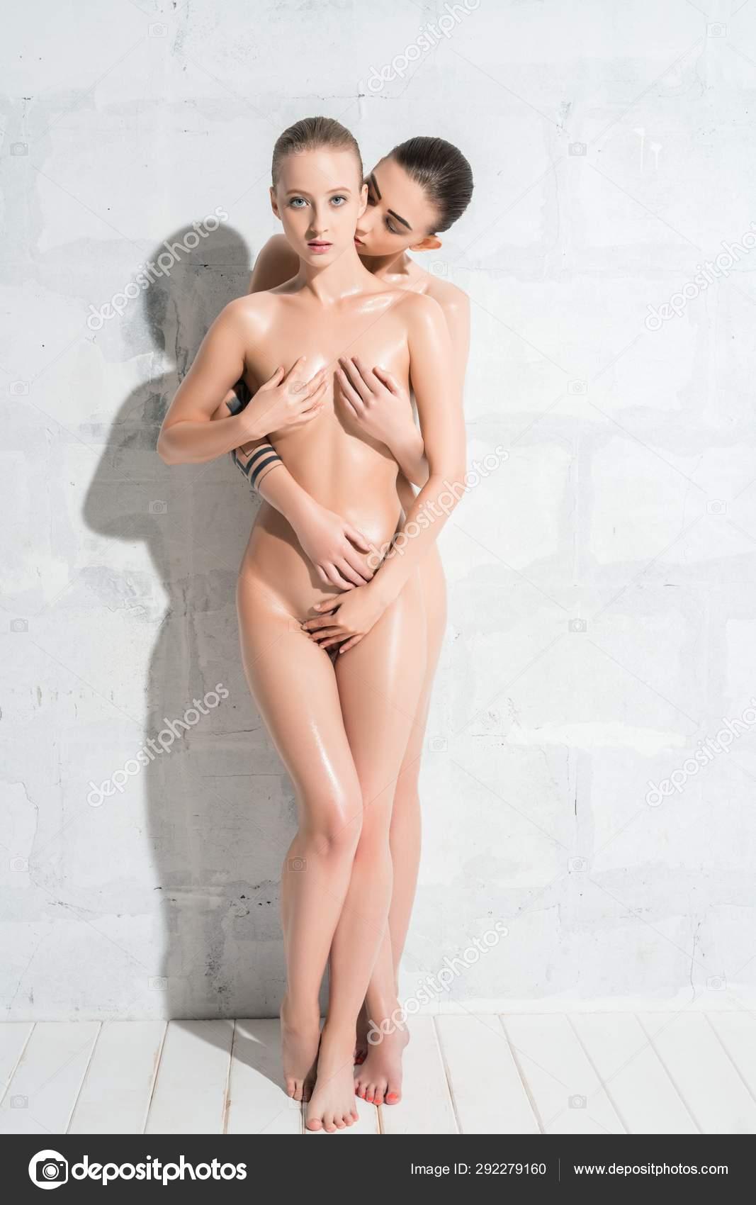 Nude women big boobs car