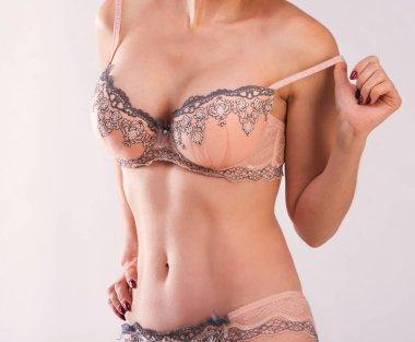 Fit female lowering bra strap