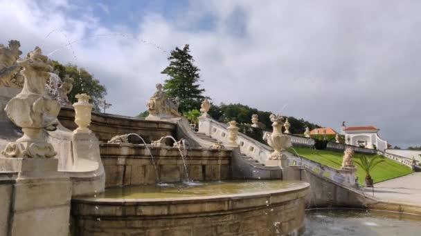 Pěkná fontána v Krumlově