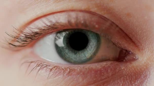 Close-up Beautiful Blue Eye