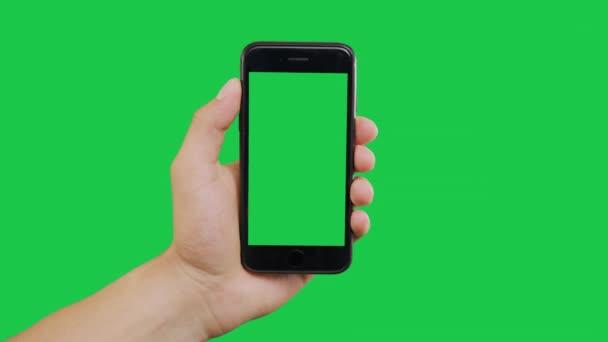 Přepne zelenou obrazovku Smartphone