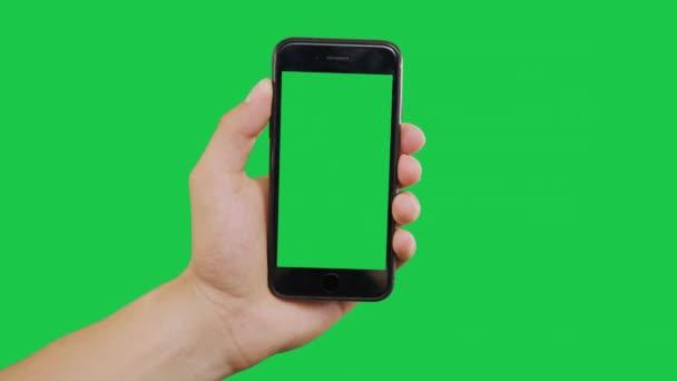Přiblížení Smartphone Green Screen