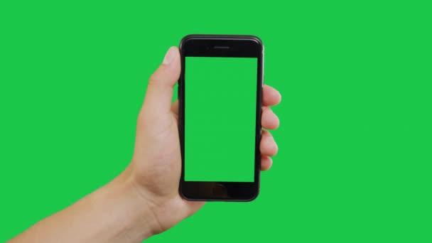Klikněte na Zelenou obrazovku Smartphone