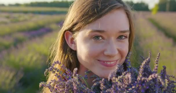 Young Lady in the Fielf of Blue Flowers