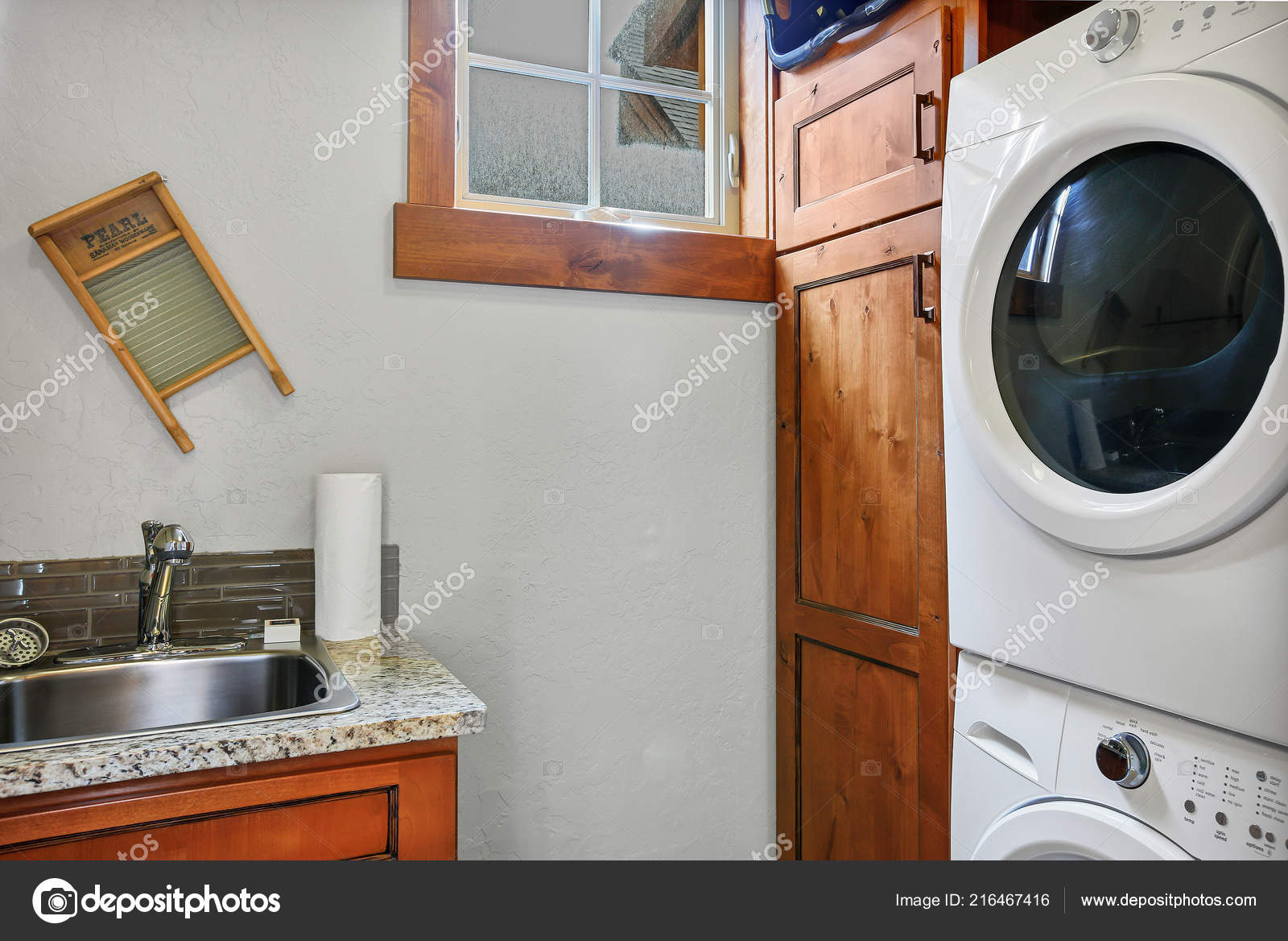 Pictures Stackable Washer And Dryer Laundry Room Stacked