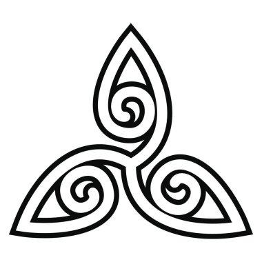 Celtic national ornament.
