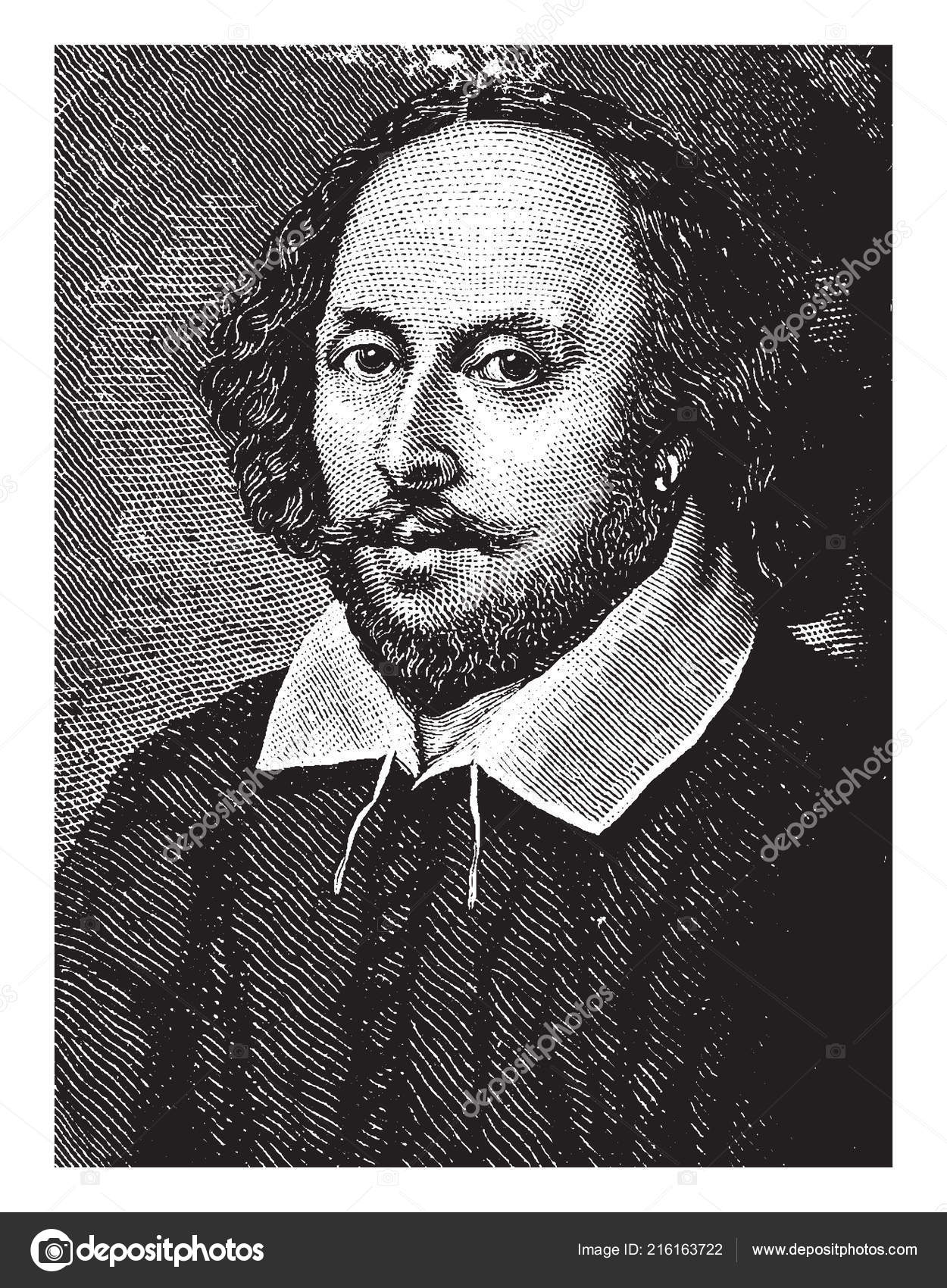 William Shakespeare, 1564-1616, he was an English poet, playwright, actor,  and the greatest writer in the English language, famous as the England's  national ...