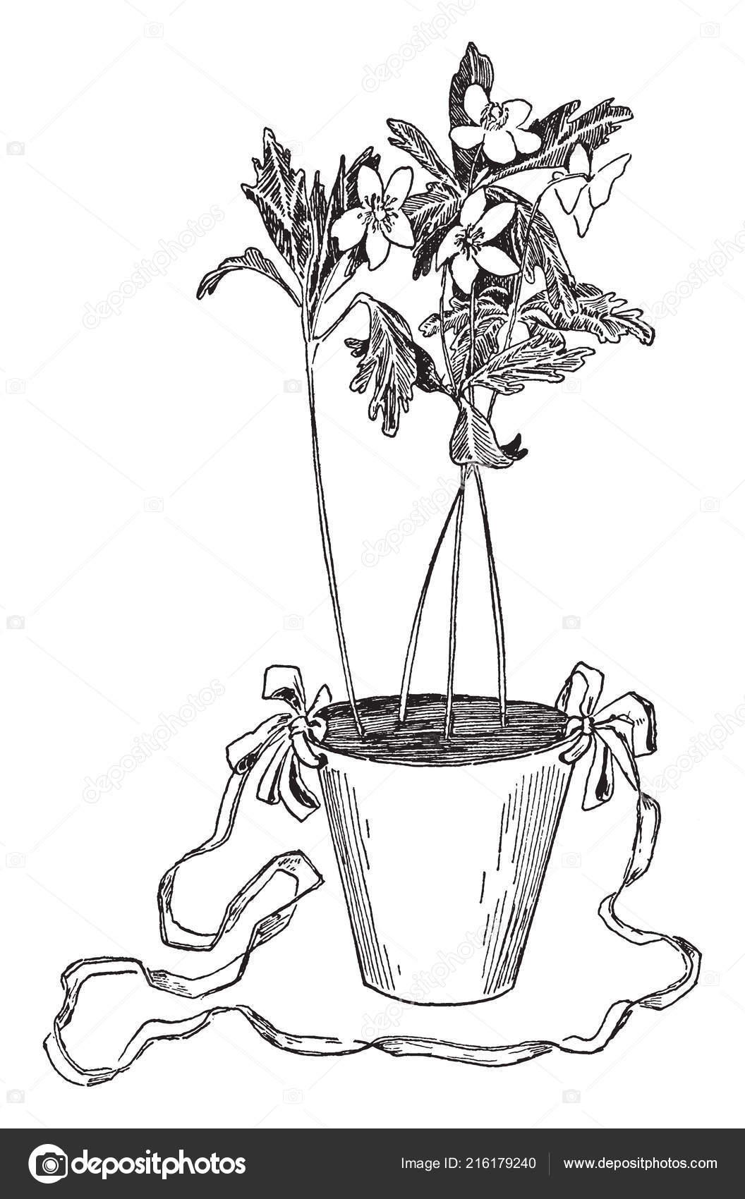 May Flower Basket Water Proof Paper Flower Pot Flowerpot Plant