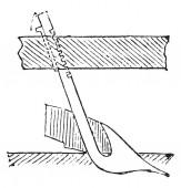 Coulter, vintage ryté ilustrace. Průmyslové encyklopedii E.-O. Lami - 1875