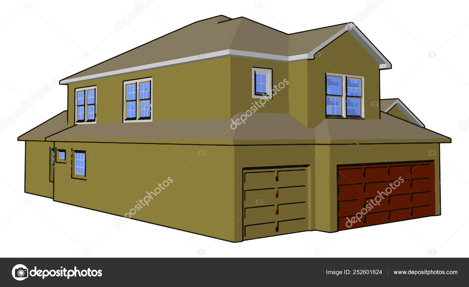 Terrific Basic Components Of House Vector Or Color Illustration Download Free Architecture Designs Scobabritishbridgeorg