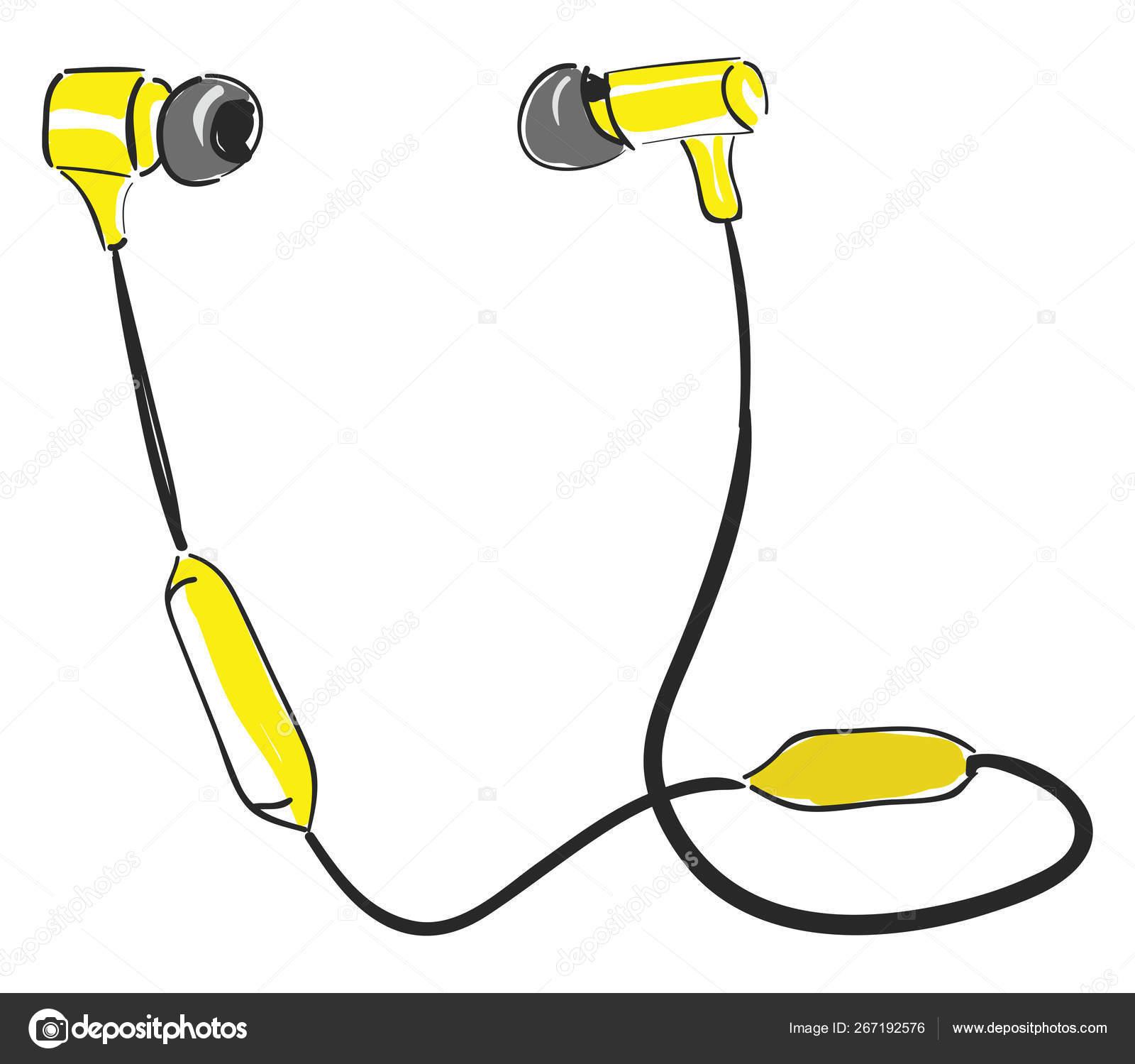 Bluetooth Earpiece Vector Or Color Illustration Stock Vector C Morphart 267192576