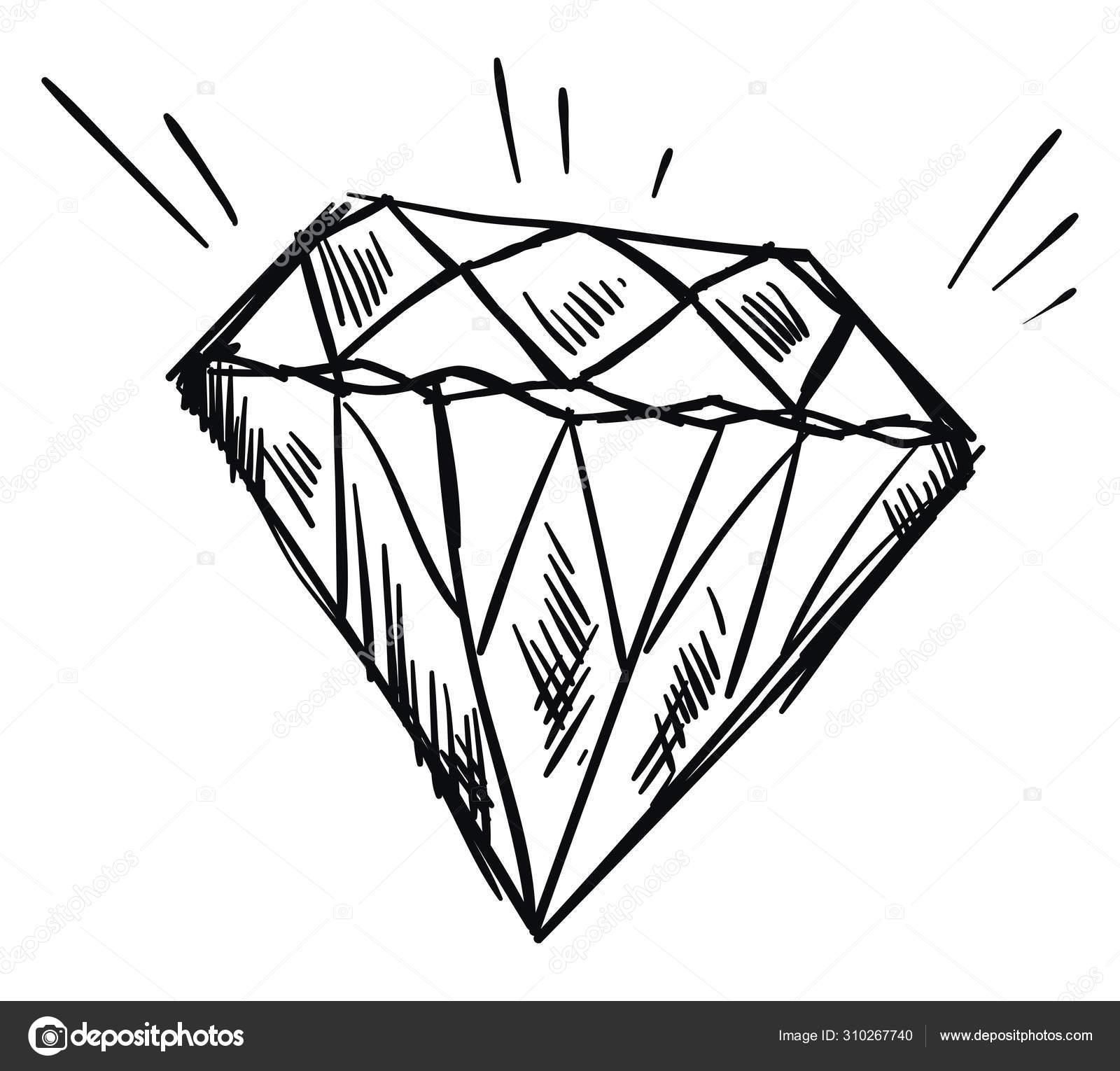 diamond drawing illustration vector on white background stock vector c morphart 310267740 diamond drawing illustration vector on white background stock vector c morphart 310267740