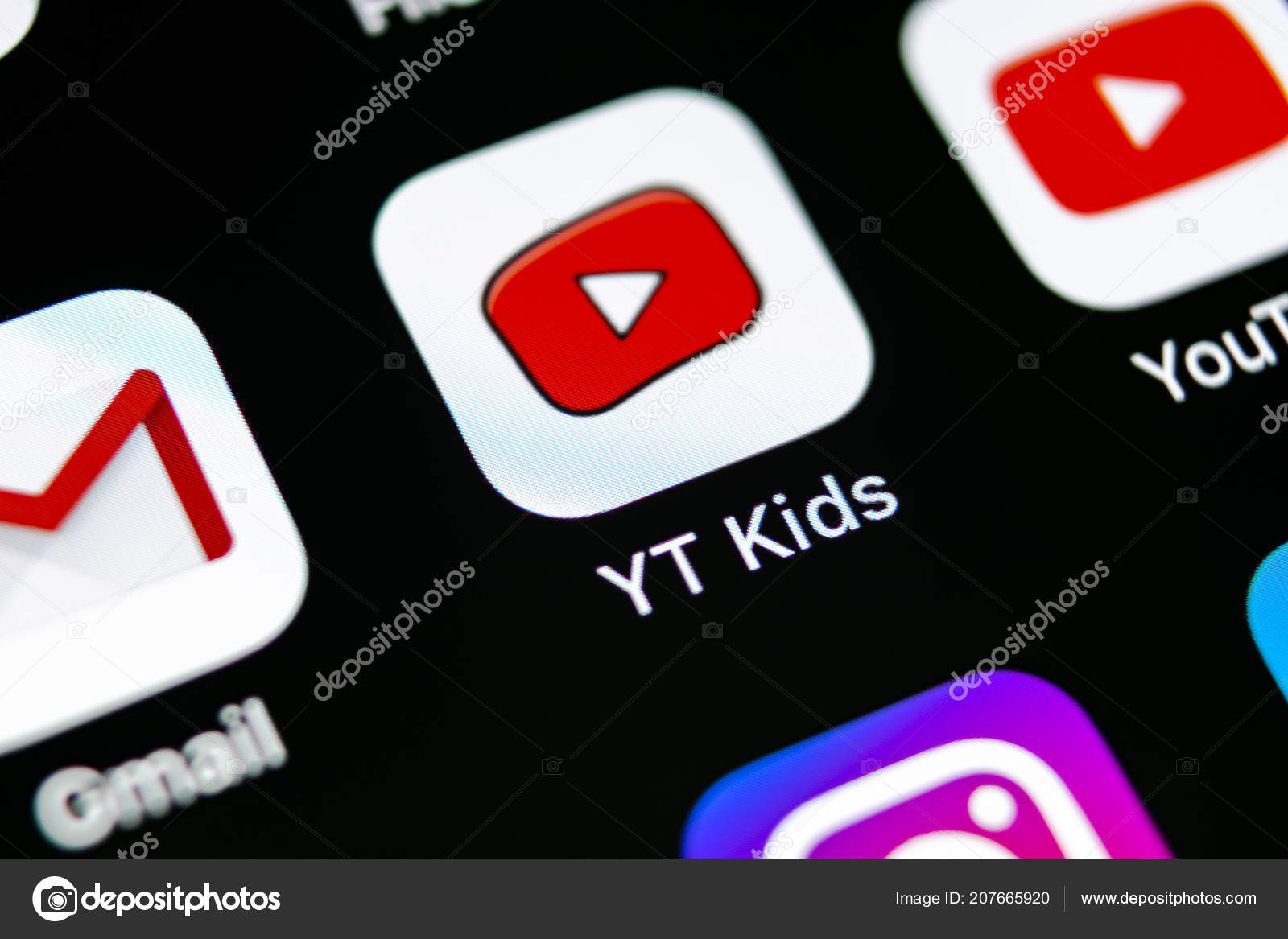 a71af426e300 Sankt Petersburg Russia May 2018 Youtube Kids Application Icon Apple ...