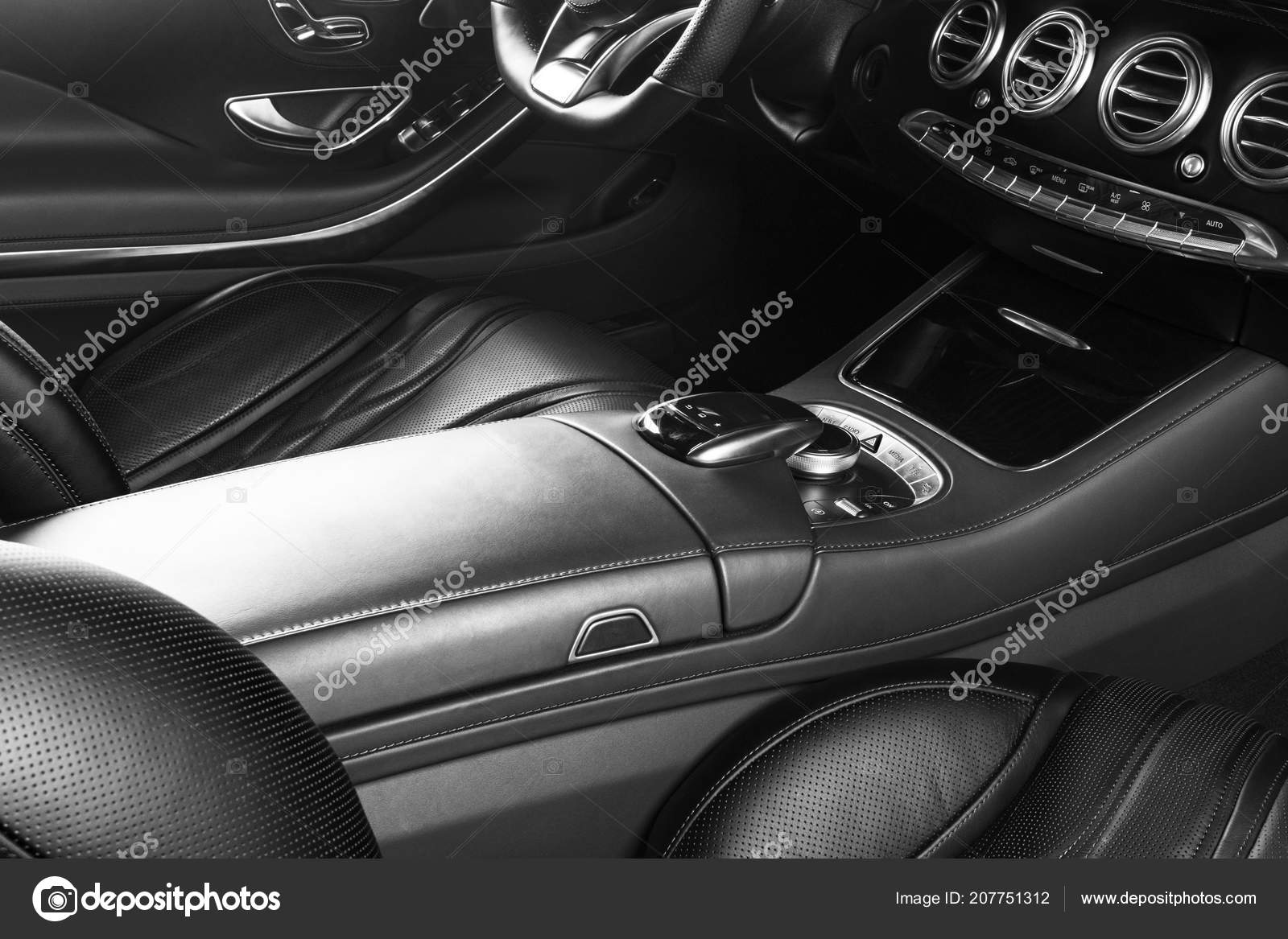 Ventilation Deck Luxury Modern Car Interior Modern Car Interior
