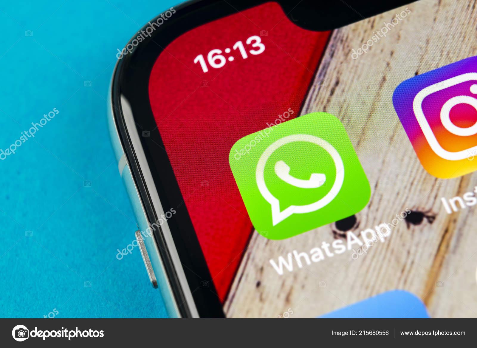 Sankt Petersburg Russia September 2018 Whatsapp Messenger