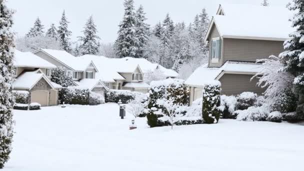 Schneesturm trifft pazifischen Nordwesten der Vereinigten Staaten